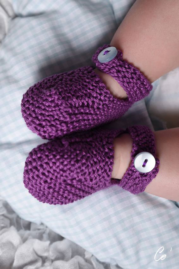 chaussons-violet